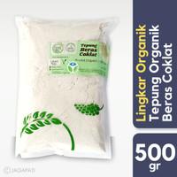 Lingkar Organik - Tepung Beras Coklat 500gr - Bebas Gluten