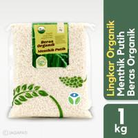 Lingkar Organik - Beras Menthik Putih 1 kg - Beras Pulen