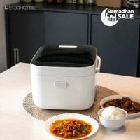ECOHOME - RICE COOKER RENDAH KARBOHIDRAT - Black Edition