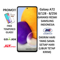 SAMSUNG GALAXY A72 8/128 DAN 8/256 2021 GARANSI RESMI SEGEL BNIB - Putih 128GB
