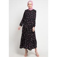 Gamis muslimah Alona Long Dress by Meemaa Style