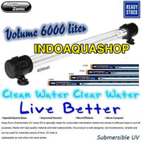 Aqua Zonic UV008 Lampu UV Celup Kolam 40W Aquazonic Submersible UV
