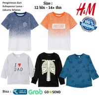 Baju Kaos HnM HM Anak Laki 5 Original Branded - Atasan Anak Cowok H&M