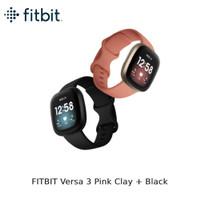 FITBIT Versa 3 Pink Clay + Black