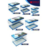 AQUARIUM AQUASCAPE BENDING IMPORT GLASS TANK RECENT AQ 102(GOJEK/GRAB)
