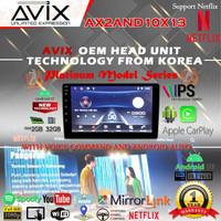 Head unit Android 10 Inch AVIX AX2AND10X13 Platinum RAM 2GB / ROM 32GB