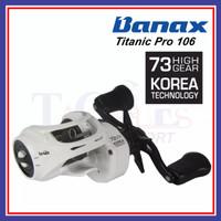Banax Titanic Pro 106 Baitcasting Bait Cast Fishing Reel