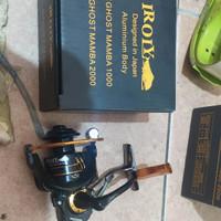 reel pancing power handle iroly ghost mamba 1000 murah laris semarang