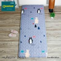 Kasur Gulung Kasur Lantai Travel Bed Quantum Motif Karakter 80x195x6cm