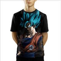 Baju Kaos Anak Laki-Laki Dan Perempuan Anime Dragon ball Z goku