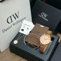 jam tangan wanita fashion analog paket kado ulang tahun mewah