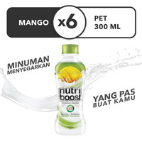 Nutriboost Mango - Botol 300mL x 6pcs