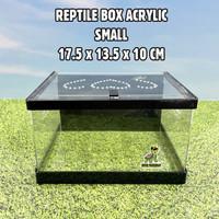 REPTILE BOX MAGNET SIZE S KANDANG REPTIL SNAKE ULAR BALLPYTHON SKINK