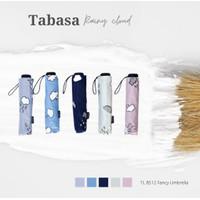 Payung Lipat Tabasa Rainy Cloud 8512