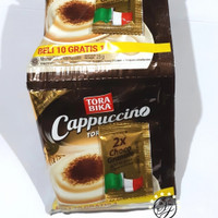 Kopi Torabika Cappuccino / Cappuccino Coffee (10 bungkus/lembar)