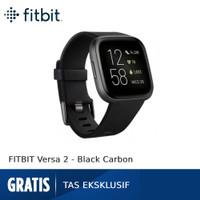 FITBIT Versa 2 FB507 [FB507BKBK-FRCJK] - Black Carbon