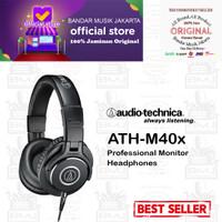 Audio Technica ATH-M40X, Headphone Monitor Closed-Back,BMJ