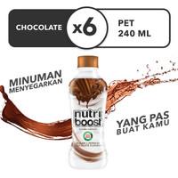 Nutriboost Coklat - Botol 240mL x 6pcs