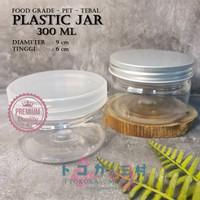 [Premium] Jar Toples Plastik 300 ml - Packaging Kemasan Kue Makanan