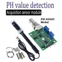 Board Modul PH Meter Sensor for Arduino ( Sensor + Board )