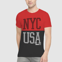Kaos Casual Pria / Baju Pria Lengan Pendek / T-shirt Distro KH-87034-