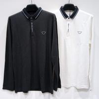 Kaos Polo Shirt Lengan Panjang Pria Kerah Import (#2381A)