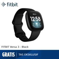 Fitbit Versa 3 [FB511BKBK-FRCJK] - Black