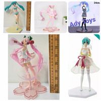 Anime Hatsune Miku Sakura Miku Action Figure 24cm