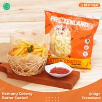 Kentang Goreng Frozenland Batter Coated 500 gr