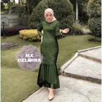 MAXI CELMIRA ARMY [Gamis 0121] UCV Baju Gamis Wanita Terbaru