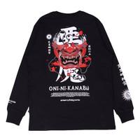"T-shirt Myhtology Series ""Oni ni Kanabo"" Longsleeve"