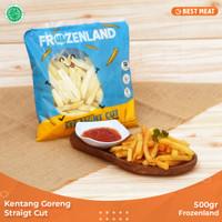 Kentang Goreng Frozenland Straigt Cut 500 gr