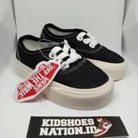 Sepatu sneakers anak laki perempuan 1 tahun vans authentic anak hitam - 21