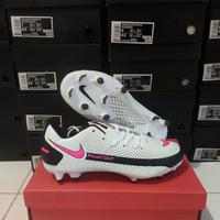 Sepatu Bola Nike Phanton GT Academy White Pink Blast - Sepatu soccer