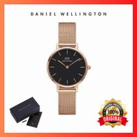 Jam tangan wanita Petite Melrose Black Original - 36mm