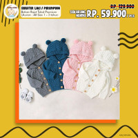 Sweater / Hodie / Jaket / Cardigan / Kardigan Rajut Bayi / Anak
