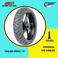 Ban Depan Motor HONDA PCX // FDR SPORT XR EVO 100/80 Ring 14 Tubeless