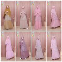 Gamis Syari Anak Premium Syalimar by Hawwaaiwa Ori 5-6y. Baju Muslim