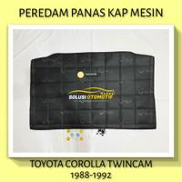 TOYOTA COROLLA TWINCAM 1988-1992 Peredam Panas Kap Mesin Mobil VTECH