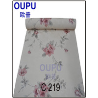 [MURAH] Jual wallpaper dinding bunga elegant
