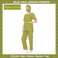 Baju Ok / Baju Dres Wanita / Pria Pendek / Baju Jaga Perawat Terbaru