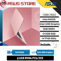 ASUS E410MA-FHD453 - INTEL N4020 DDR4 4GB 512GB SSD INTEL UHD 14 W10