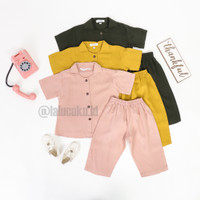 Kids Pajamas Akleema Baju Piyama Tie Dye OneSet Wanita Original Produk