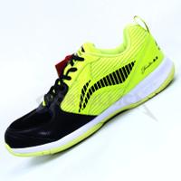 Sepatu Badminton Li-Ning / LiNing AYTQ094 Attack G7 Black Lime