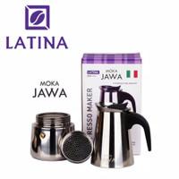 Alat Kopi Latina REW-1112 Moka Jawa - Mokapot 300ML 6 cup