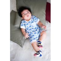 Baby Kenaz Hello Holo Collection Jumper Romper Anak Bayi Lengan Pendek