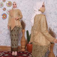 Kebaya modern/Pakaian wanita/Setelan wanita/Busana/Baju/pernikahan/cwe