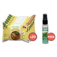 Paket Mie Instan Kuah Rasa Kari Ayam Isi 20 GRATIS Naturizer Peppermin