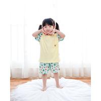 Baby Kenaz Hello Holo Collection Setelan Oblong Anak Bayi Lengan Pende