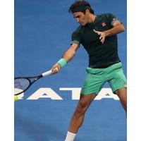 Baju Jersey Kaos Polo Shirt Tenis Tennis Uniqlo Roger Federer Dry Ex